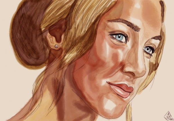 Saoirse Ronan by Bilou020285